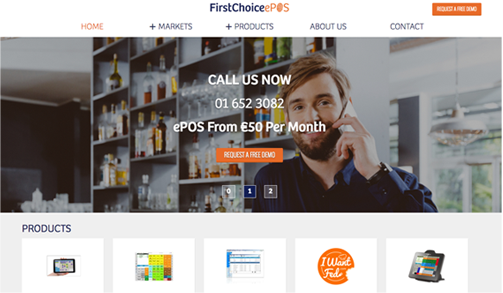 FIRST CHOICE EPOS desktop