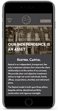 KESTREL CAPITAL mobile