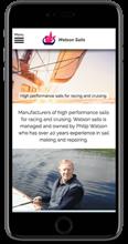 WATSON SAILS mobile